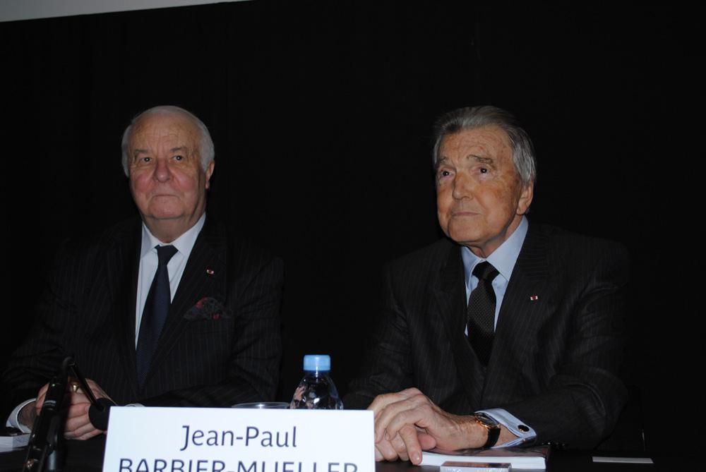 Jean-Paul Barbier-Mueller et Arnaud d'Hauterives