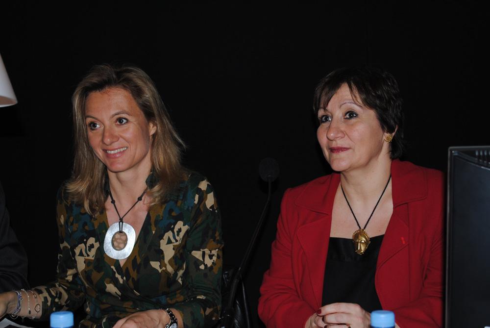 Caroline Barbier-Mueller et Laurence Mattet
