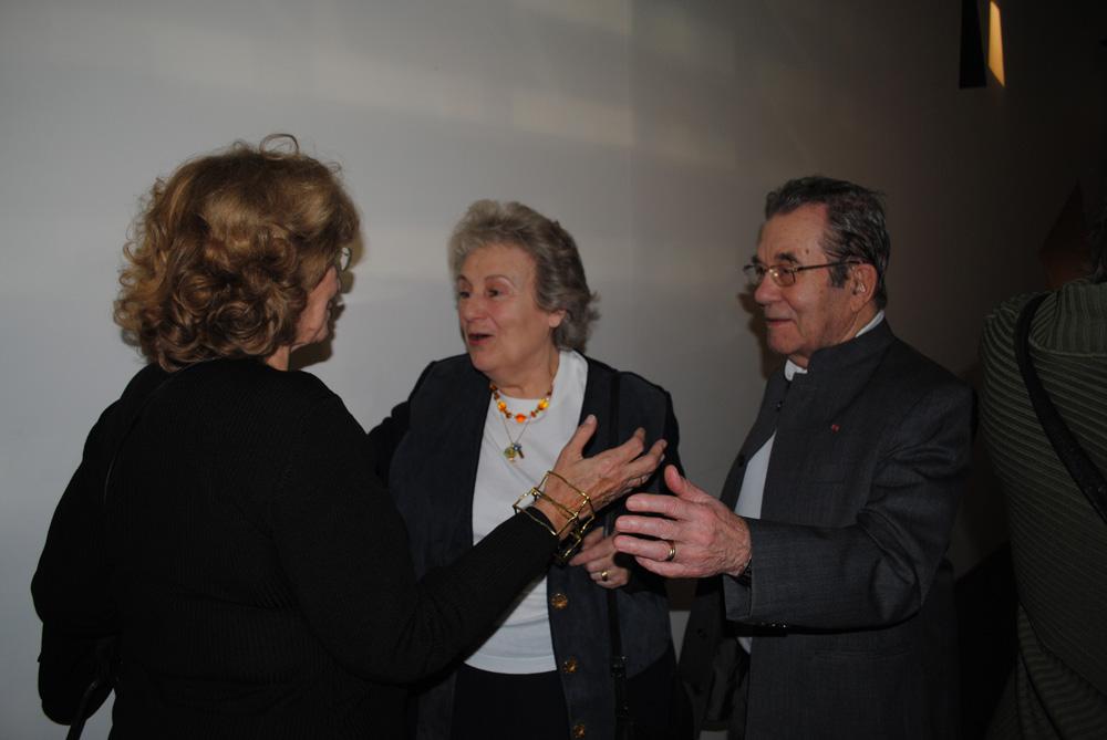 Monique Barbier-Mueller. Françoise et Pierre Daix