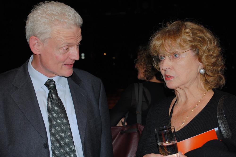 Jonathan King et Monique Barbier-Mueller