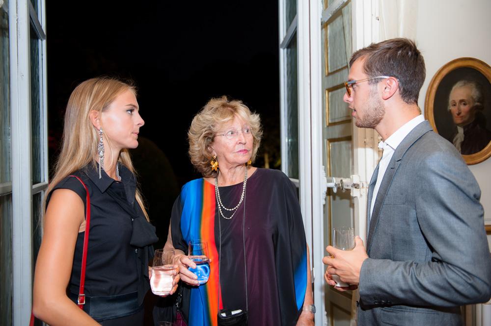 Alix, Monique et Henri Barbier-Mueller. Photo Luis Lourenço.