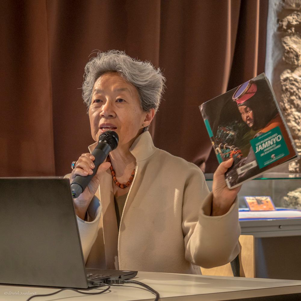 Dre Ok-Kyung Pak  au musée Cernuschi, 2 octobre 2018