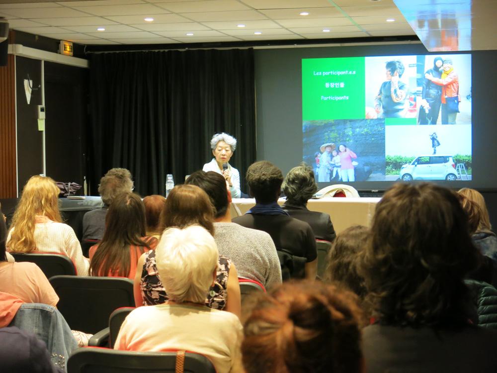 Conférence du 17 mai 2019 à Paris au Centre Culture Coréen à Paris.