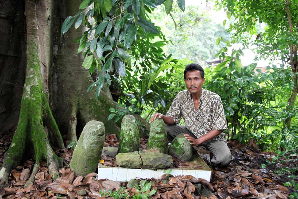 """""""Pangulubalang"""" de la """"marga"""" Siregar à Huta Balianguru II, pays Toba Batak. Photo Helder Da Silva, 2011, abm-archives barbier-mueller."""