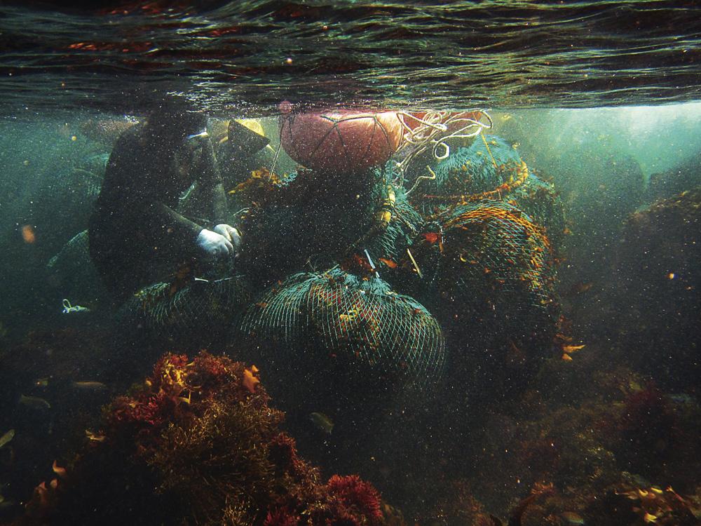 Plongeuses à Udo. Photo Koh Sung-Mi, 2016.